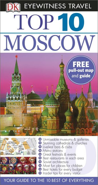 Paperback cover of Top 10 Moscow