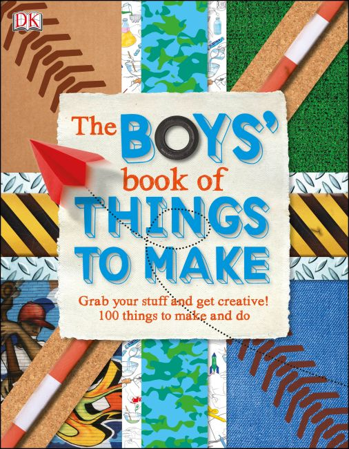 eBook cover of The Boys' Book of Things to Make