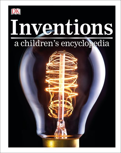 Hardback cover of Inventions A Children's Encyclopedia