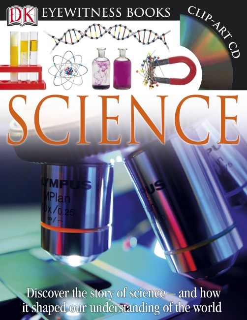 Hardback cover of DK Eyewitness Books: Science