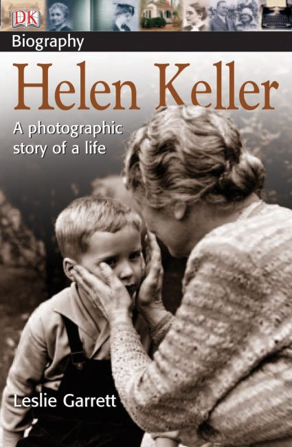 Paperback cover of DK Biography: Helen Keller