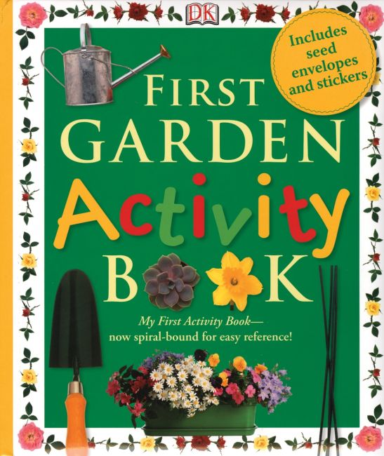 eBook cover of First Garden Activity Book