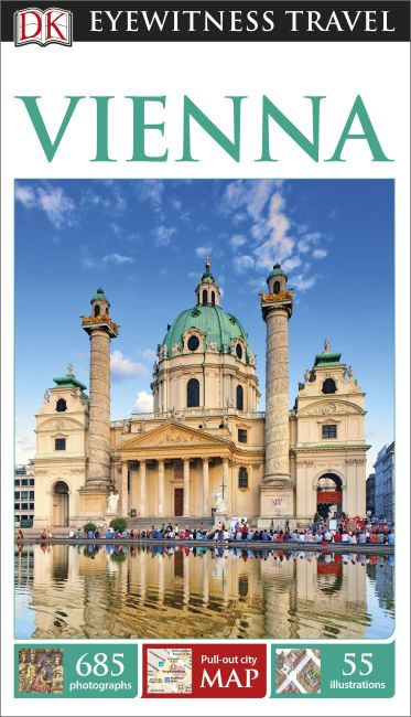Paperback cover of DK Eyewitness Travel Guide Vienna
