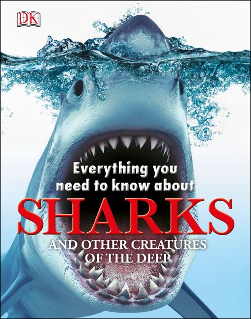 eBook cover of Everything you Need to Know about Sharks