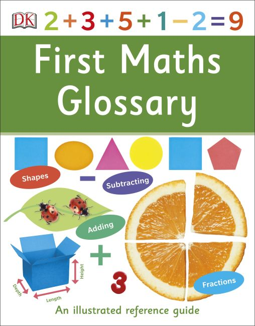 Paperback cover of First Maths Glossary