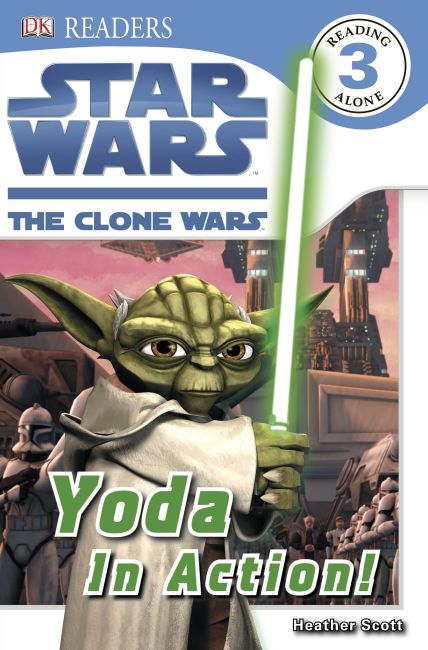 eBook cover of Star Wars Clone Wars Yoda in Action!