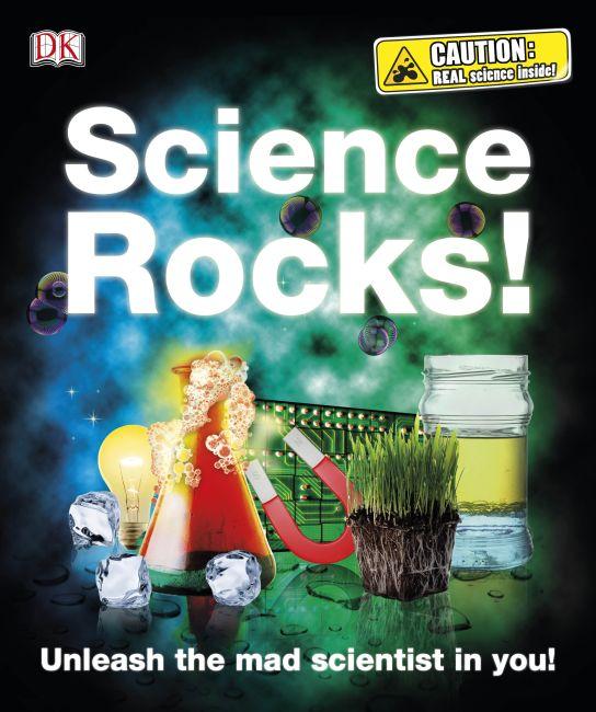 Hardback cover of Science Rocks!
