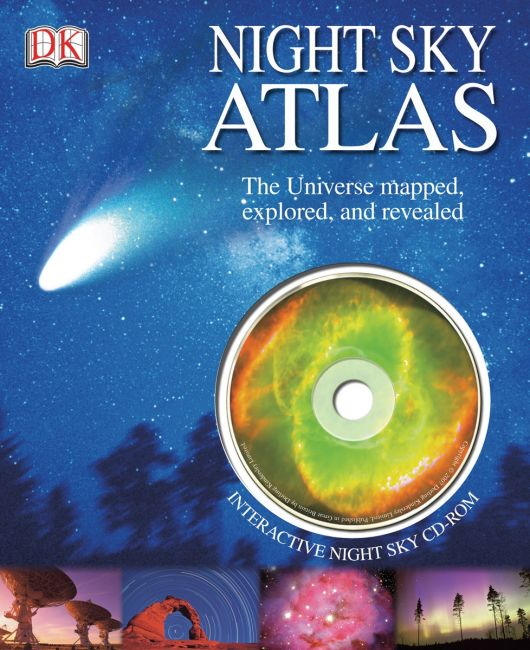 Spiral bound cover of Night Sky Atlas