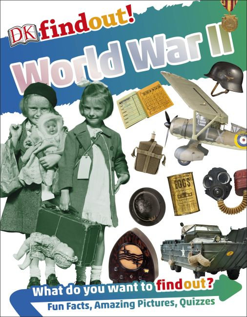 Flexibound cover of DKfindout! World War II