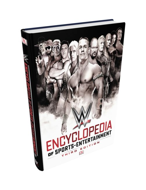 Hardback cover of WWE Encyclopedia Of Sports Entertainment, 3rd Edition