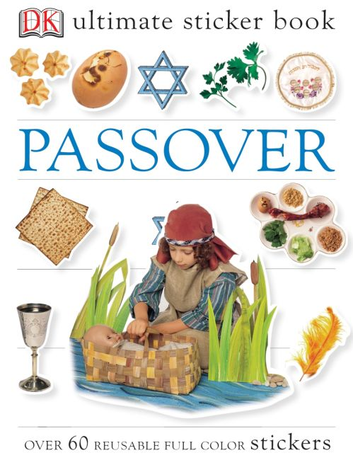 Paperback cover of Ultimate Sticker Book: Passover