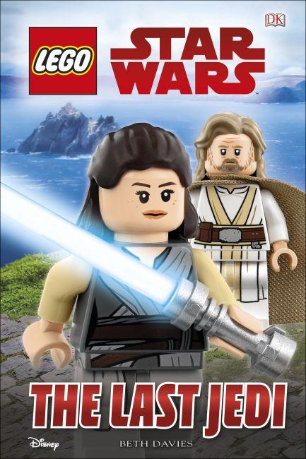 Hardback cover of LEGO Star Wars The Last Jedi