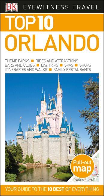 Paperback cover of Top 10 Orlando
