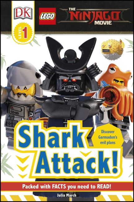 Hardback cover of The LEGO® NINJAGO® Movie™ Shark Attack!