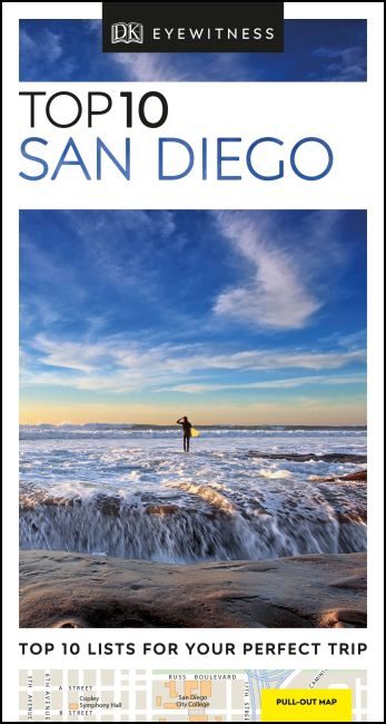 Paperback cover of DK Eyewitness Top 10 San Diego