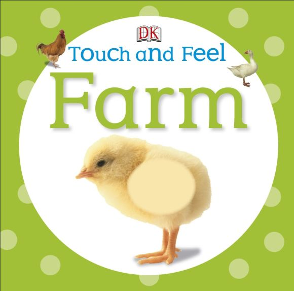 Board book cover of Touch and Feel: Farm