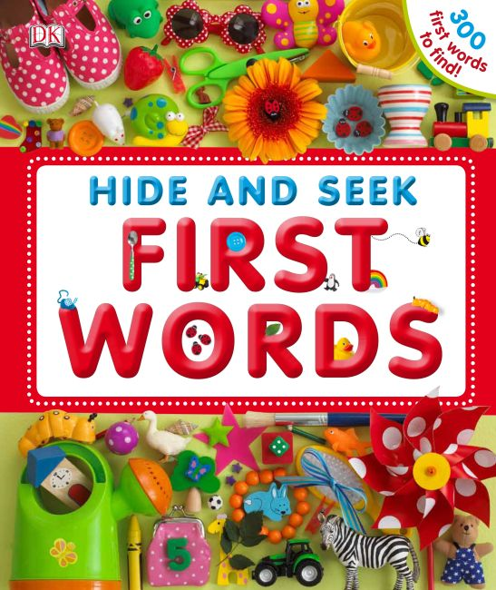 eBook cover of Hide & Seek 1st Words