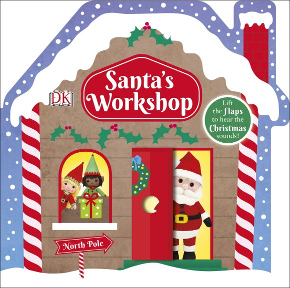 Board book cover of Santa's Workshop