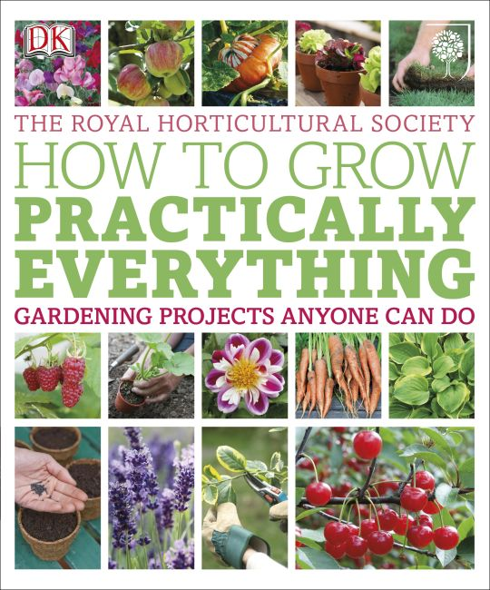 Paperback cover of RHS How to Grow Practically Everything