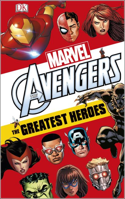 Hardback cover of Marvel Avengers: The Greatest Heroes