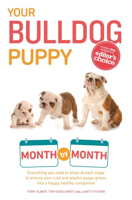 Paperback cover of Your Bulldog Puppy Month by Month