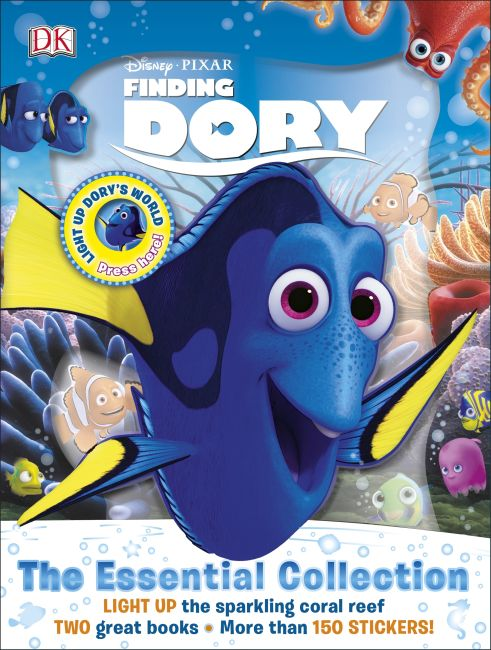 Slipcase of Editions cover of Disney Pixar Finding Dory The Essential Collection