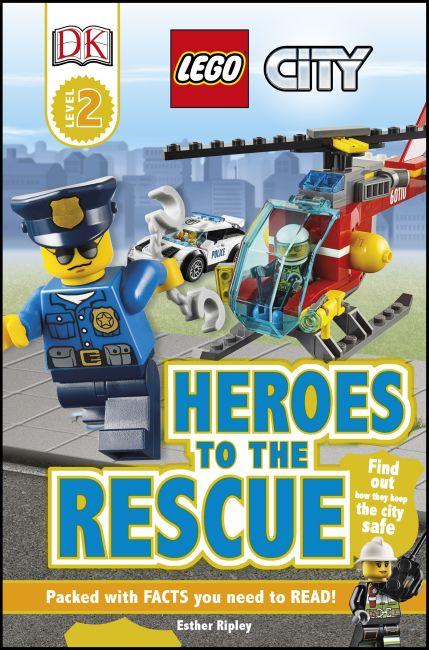Paperback cover of DK Readers L2: LEGO City: Heroes to the Rescue