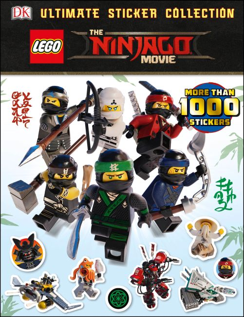 Paperback cover of Ultimate Sticker Collection: THE LEGO® NINJAGO® MOVIE™