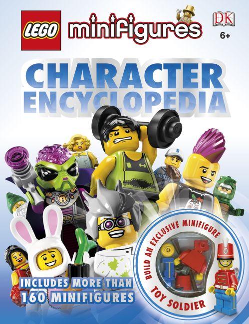 Hardback cover of LEGO Minifigures: Character Encyclopedia