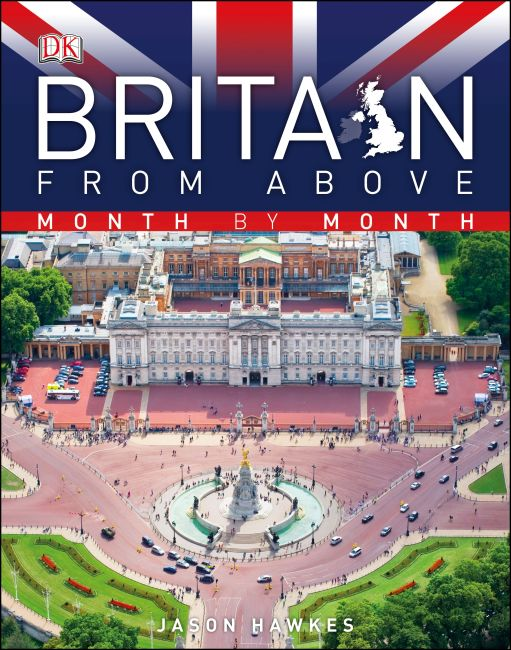 eBook cover of Britain from Above Month by Month