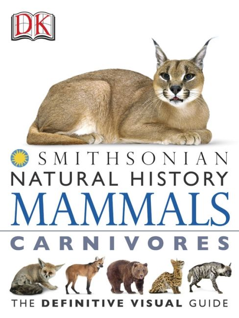 eBook cover of DK Natural History Mammals Carnivores