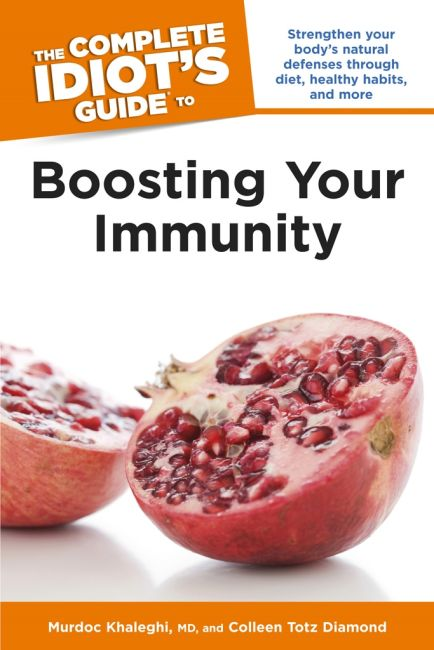 Paperback cover of The Complete Idiot's Guide to Boosting Your Immunity