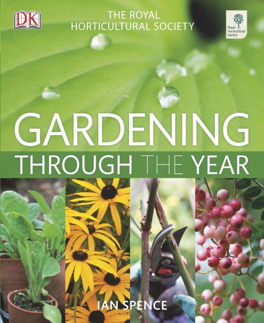 Hardback cover of RHS Gardening Through The Year