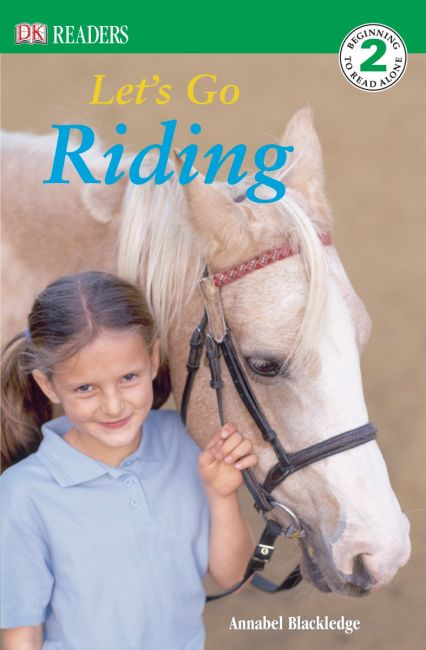 Paperback cover of DK Readers L2: Let's Go Riding