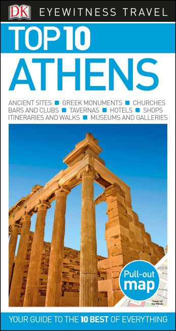 Paperback cover of Top 10 Athens