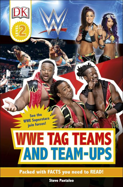 Paperback cover of WWE Tag-Teams and Team-Ups