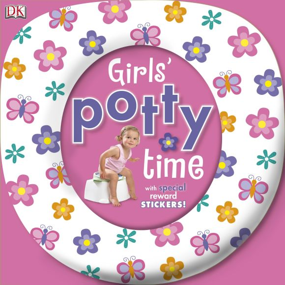 Board book cover of Girls' Potty Time