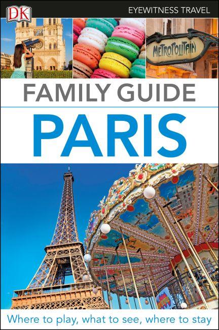 Flexibound cover of Family Guide Paris