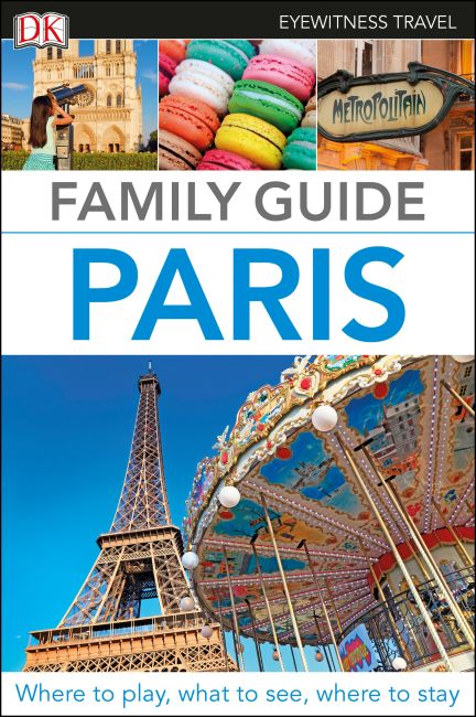 Flexibound cover of DK Eyewitness Family Guide Paris