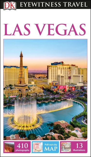 Flexibound cover of DK Eyewitness Las Vegas Travel Guide