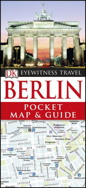 Paperback cover of Berlin Pocket Map and Guide