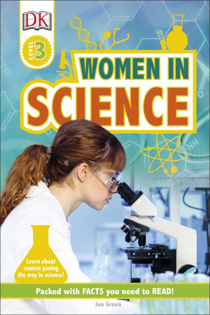 Hardback cover of DK Readers L3: Women in Science