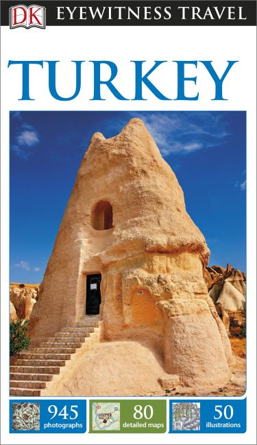 Flexibound cover of DK Eyewitness Travel Guide Turkey