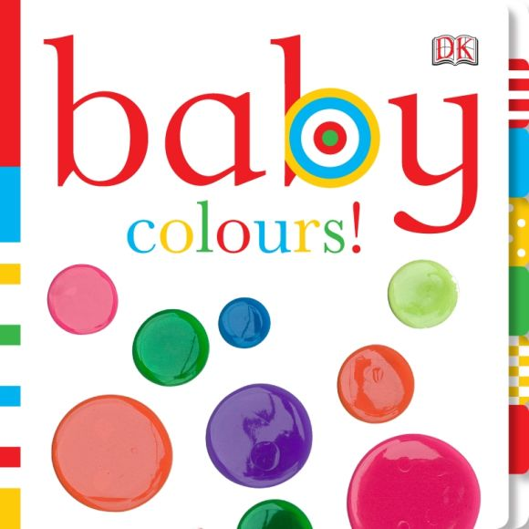 Board book cover of Baby Colours!