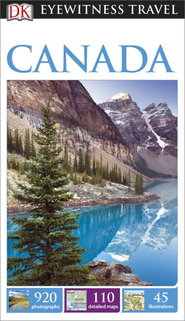 Paperback cover of DK Eyewitness Travel Guide Canada