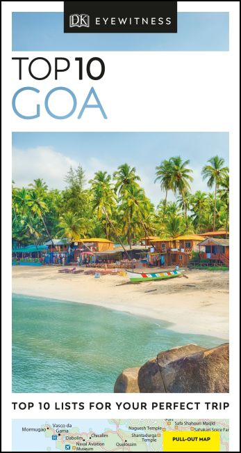 Paperback cover of Top 10 Goa