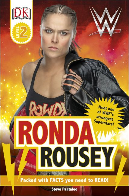 Paperback cover of WWE Ronda Rousey