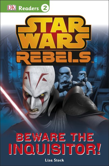 Paperback cover of DK Readers L2: Star Wars Rebels: Beware the Inquisitor