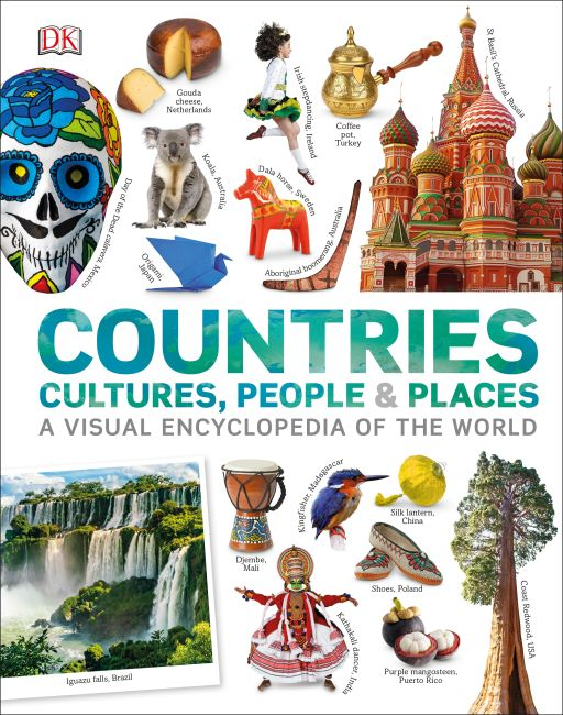 Hardback cover of Countries, Cultures, People & Places