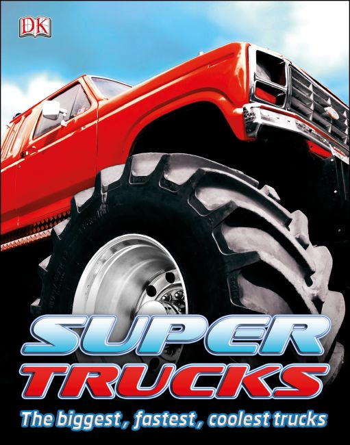 eBook cover of Super Trucks